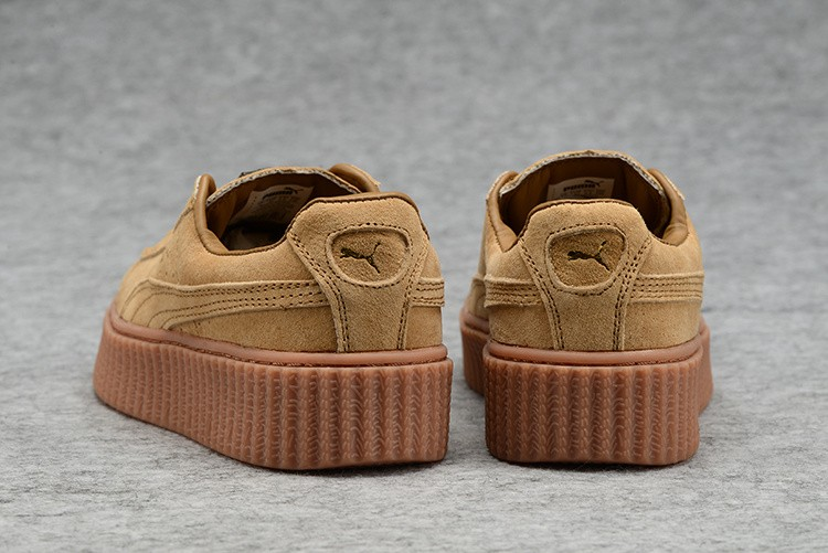 puma femme chaussures marron