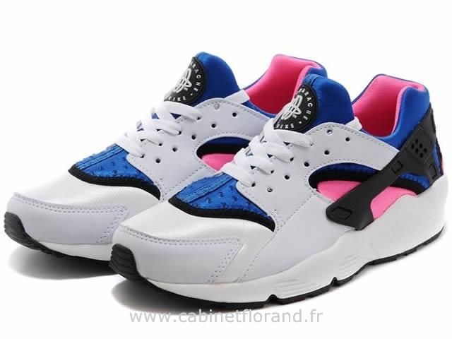 quality design 5e6a6 29238 nike air huarache blanche et bleu femme